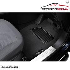 New Genuine Nissan Dualis J-10 Carpet Mats (Front & Rear) G4900JD000AU RRP $145