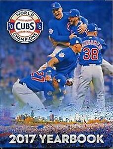 2017 Chicago Cubs Official Yearbook 2016 World Series Champs NEW DENTED CORNER
