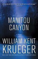 Manitou Canyon: A Novel (Cork O'Connor Mystery Series), Krueger, William Kent, V