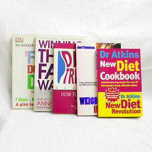 Discover How To Lose Weight And Stay Thin - 5 X Top Diet Books Show You How
