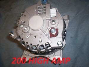 FORD Mustang GT High Output HO Alternator 2005-2006 2007 2008 09 4.6L Generator