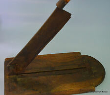 traditional French vintage baguette bread cutter. guillotine style