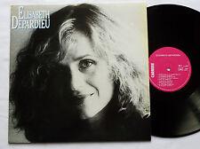 "Elisabeth DEPARDIEU "" S/T "" ORIG LP CARRERE (1983) NMINT"