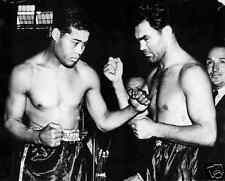 Joe Louis Max Schmeling Bpxing 10x8 Photo
