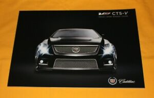 Cadillac CTS-V 2011 Prospekt Brochure Prospetto Catalog Folder Broschyr