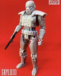"""Custom Star Wars Dark Trooper DIY Kit Black Series 6"""" 1/12"""