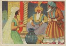 World book day-pantographe-aladdin blue genie de la lampe /& sultan chapeau avec plumes