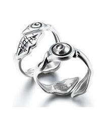 Parasyte - Izumi Shinichi & Migi Silver Knuckle Adjustable Finger Ring