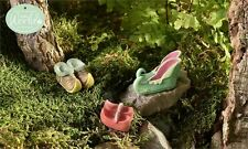 FAIRY GARDEN Miniature ~ Glow-In-The-Dark Elf Shoes – Set of 3 ~ Mini Dollhouse