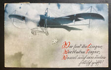 1916 Graz Austria Picture Postcard Cover To Seitenstetten WWI Air Force Pigeon
