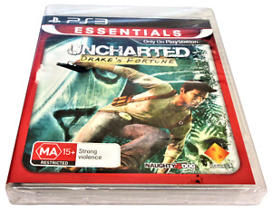 Uncharted Drake's Fortune Sony PS3 *Sealed*