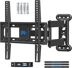 Mounting Dream TV Wall Bracket Mount Swivel and Tilt for Most 26-55 Inch LED, up