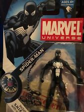 Marvel Universe Black Costume Spider-Man #018 w/SHIELD Files