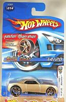 2005 Hot Wheels Faster Than Ever #14 1st Edition-Realistix BULLY GOAT Gold w/FTE