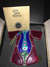 Turco Cristal ornamentales Laleli Kırmızı Kaftan con Caja Original