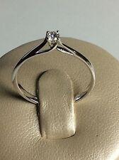 SCONTO 50% Anello Solitario Diamante Naturale Oro 18Kt - Natale - Gold Ring