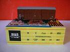 PIKO wagon couvert SNCF N° 271401 dans sa boite échelle HO