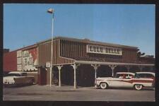 POSTCARD SCOTTSDALE AZ/ARIZONA LULU BELLE RESTAURANT & TAVERN BAR 1950'S