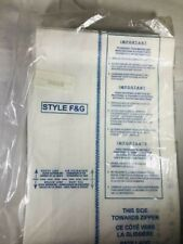 Vacuum Bags Upright Style F&G 10 Each Unbranded Free Shipping