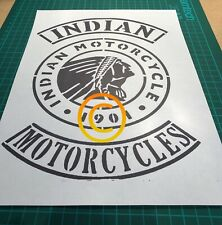 indian motorcycle Stencil
