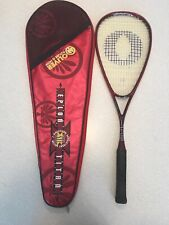 Oliver Dragon T6 Braided Eplon Technology Squash Racket Racquet With Case #Y745