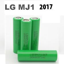 4 x Genuine LG MJ1 18650 3500mAh 10A Lithium  Li Ion High Drain Batteries