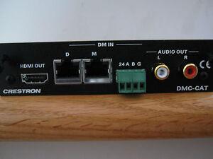 CRESTRON  DMC-CAT  DigitalMedia CAT Input Card for DM Switchers