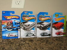 Hot Wheels Nice Lot of 4 Toyota AE-86 Corolla Variation '06 FTE Black White Imai