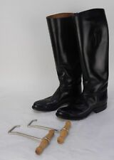 The DEHNER Co. BAILEY'S Riding Boots Black Leather C9147 with Pulls