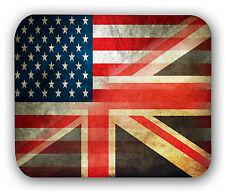 British USA Flag Anti-Slip Mouse Pad Mat Mice Mousepad