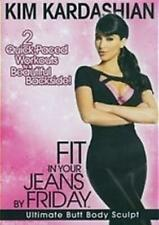 KIM KARDASHIAN Fit In Your Jeans By Friday: Ultimate Butt Body Sculpt DVD NEW