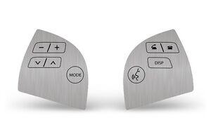 Steering Wheel Sticker Control Decal Repair Kit For Lexus ES350 2007-2012 STEEL