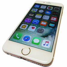 Unlocked Apple iPhone 6 64GB White / Gold iOS 10.3.2 GSM LTE 4G A1549 Grade A-