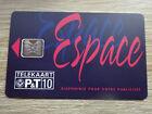 Telefonkarte Luxemburg CP02 Espace / VOLL-ungebraucht (mint)