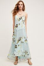 Rainflower Lace Dress Sachin Babi Size 0 $228 Wedding Maxi NWT