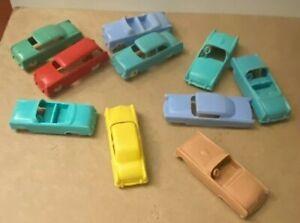 Vintage F & F Mold & Die Co. Cars (10 Total)