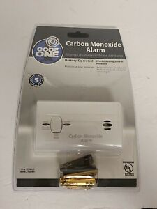 Code One Carbon Monoxide Alarm Detector Works When Power Off BRAND NEW SEALED