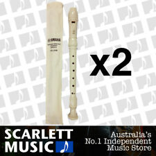 Yamaha Descant / Soprano 3 Piece ABS Resin Recorder YRS24B