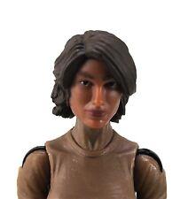 Marauders Valkyries 3.75 inch Female Head Tan Skin Tone Brown Long Hair