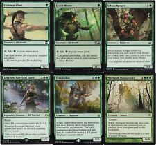 Mono Green Elf Ramp Deck -  Dwynen -Terastodon -60 Cards Magic The Gathering MTG