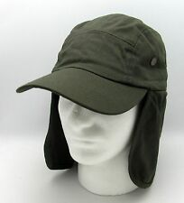 Outdoor Sport Cap Hat Long Neck Ear Flap Cover Hiking Fishing Camping New Olive