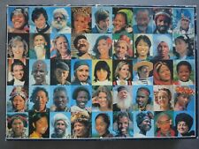 Jumbo 5000 Piece Vintage Very rare Puzzle Happy Faces World is Smiling at You