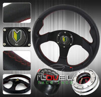 320mm Drift Car Steering Wheel + Quick Release + Hub For S13 S14 300Zx 200Sx