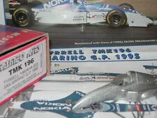 Tameo Kits 1:43 KIT TMK 196 Tyrrell 023 F.1 Yamaha GP San Marino 1995