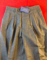 """BNWT POLO Ralph Lauren Women 100% Wool  Crop Trousers W30"""" L26"""" UK 10 RRP £249"""