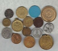 15 VARIOUS COMMEMORATIVE MEDALS IN AVERAGE VERY FINE CONDITION