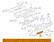 GM OEM Instrument Panel Dash-Knee Bolster 15856686