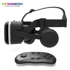 VR Shinecon Virtual Reality Headset+Bluetooth Remote Controller Android 3D Game