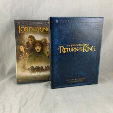 New ListingLord Of The Rings Fellowship Sealed Dvd & Return Of The King Extended Edition