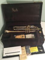 Vincent Bach Stradivarius Trumpet ML Bore Vintage 1940's Excellent- US Air Force